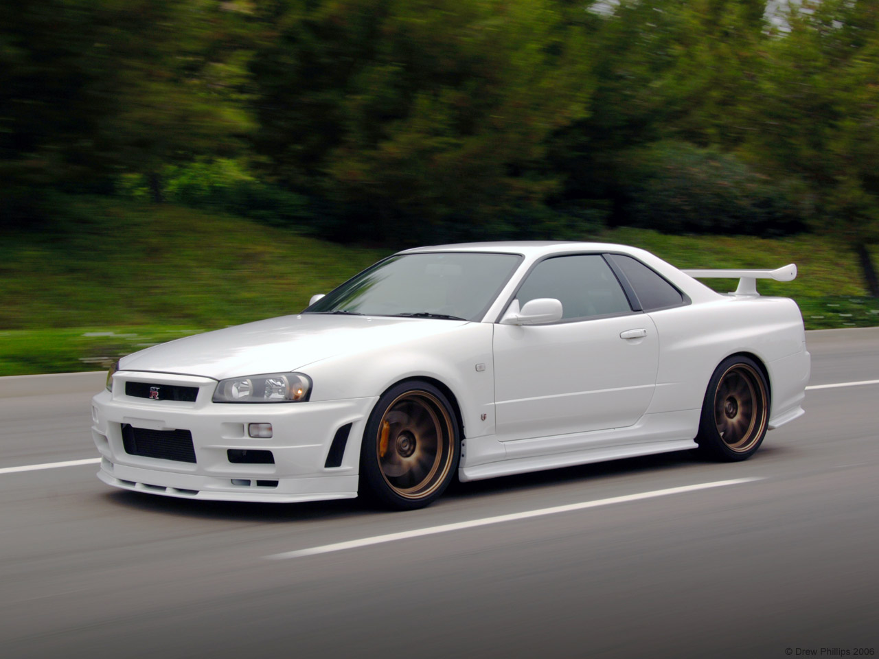 in Random Pic: White R34