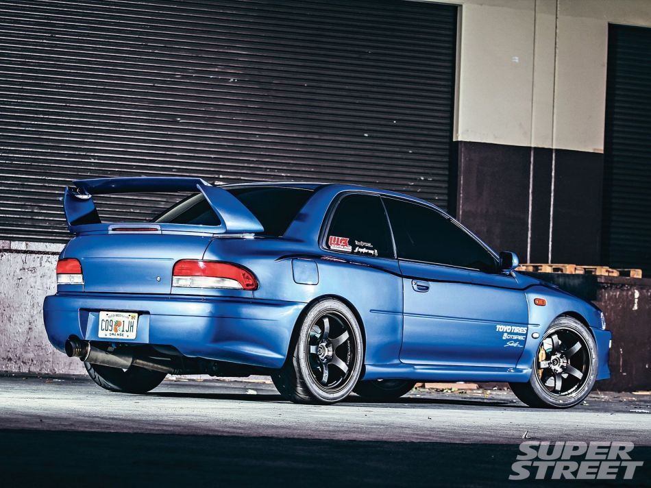 Subaru impreza 25rs wallpaper