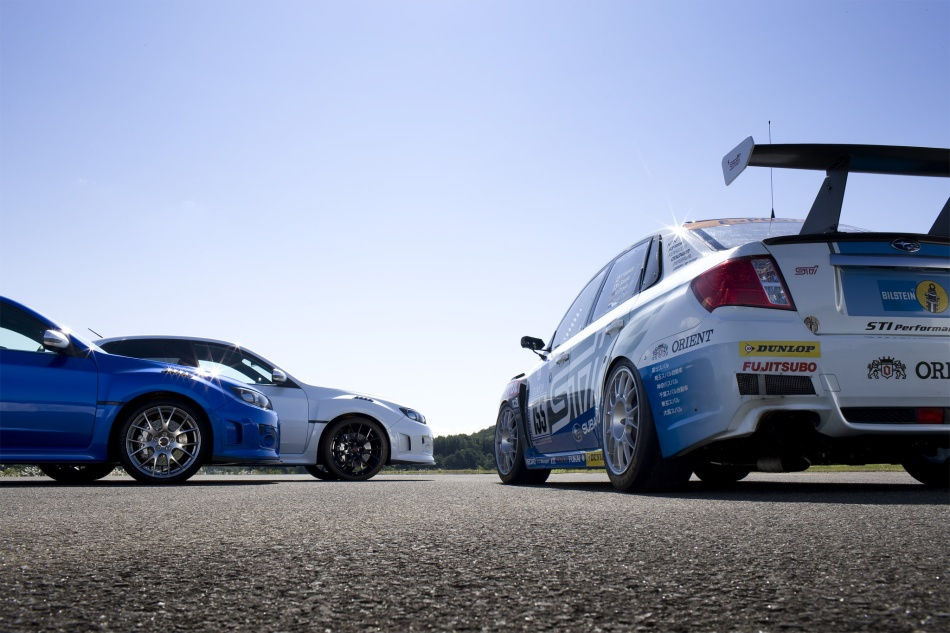S206 Subarus and Track Subaru